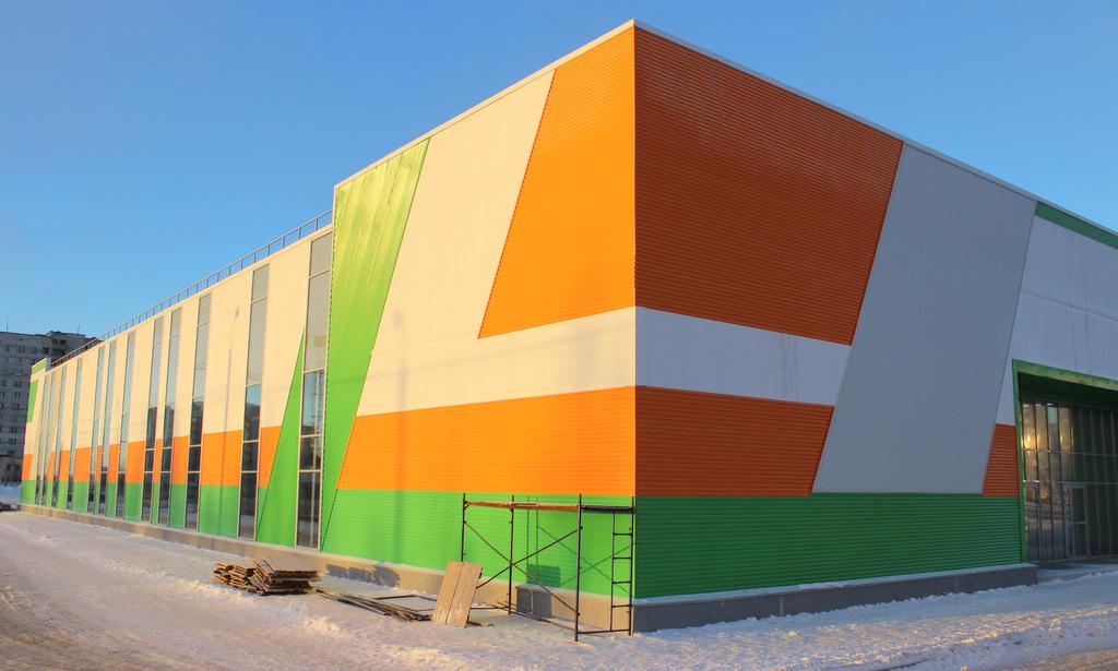 Новый торговый центр в Северодвинске, где откроется супермаркет «Макси».